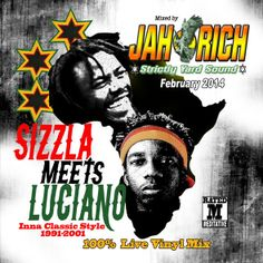 Sizzla meets Luciano inna Classic Style 1991 - 2001 [#Reggae #Mixtape] - http://www.yardhype.com/sizzla-meets-luciano-inna-classic-style-1991-2001-reggae-mixtape/