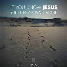 If you know Jesus...