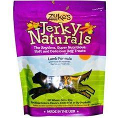Zuke's Jerky Lamb Dog Treats (12x6 Oz)