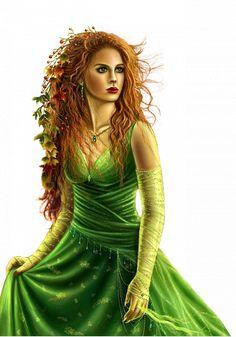 ForgetMeNot: Women in green