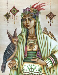 Keja, a gypsy 'drabarni', shaman, shape shifter, magick maker. Strange Beasts, Sacred Feminine, Mystique, Gods And Goddesses, Archetypes, Wiccan, Witchcraft, Deities, Occult