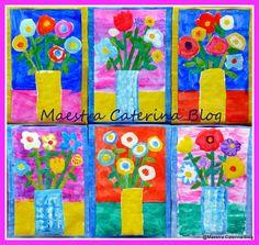 Maestra Caterina: Fiori per la Festa della Mamma - Flowers for Mothe...