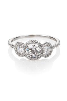 Rahaminov .50ct F/SI1 Diamond 18kwg Ring | Oster Jewelers #MyBridalStyle #MyDiamondStyle