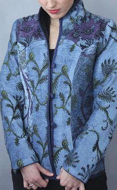Mary Lynn O'Shea: Designer | Weaver | Jackets Charlotte Jacket