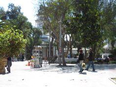 Copiapó, Chile. City plaza