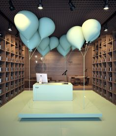 Design concept for shop.( Tender work) by vasiliy butenko, via Behance