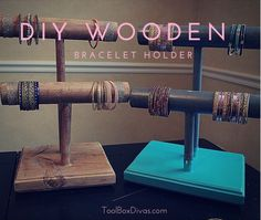 Picture of DIY Wooden Bracelet Holders