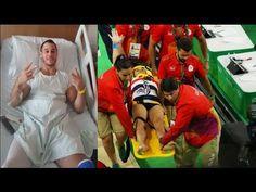Ambulance crew dropped French gymnast Samir Ait Said after horror leg break Ambulance, Gymnastics, Horror, French, Legs, Sayings, Youtube, Fitness, French People