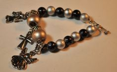 Angels  Watching Over Me Child's Stretch Bracelet PRICE REDUCED!! NOW ONLY $12.00 by EnchantedJewelry2012  http://etsy.me/1kA5fQd @Etsy