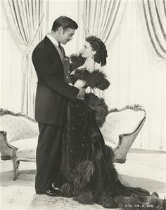 Clark Gable and Vivien Leigh; 'Gone with the Wind'