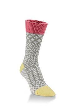 Gallery Crew Socks, Calypso