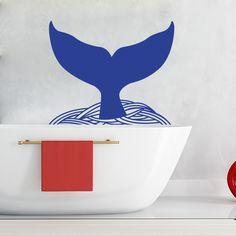 Sticker baleine disponible sur www.optimistick.fr