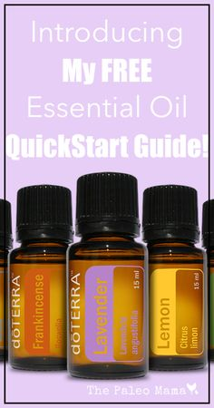 Free Essential Oil Quickstart Guide  Day Email Course Where To Buy Essential Oils Www Thepaleomama Com Essential Oils