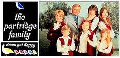 The Partridge Family was my favorite TV show when I was growing up. It was an American television sitcom series about a widowed mother and her five children who embark on a music career. Family Tv, Family Images, Family Album, Partridge Family, Get Happy, David Cassidy, I Have A Crush, Classic Tv, Back In The Day