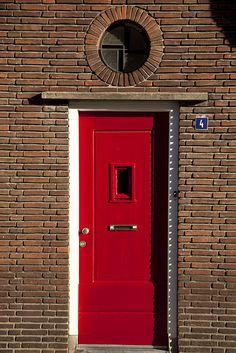 Brick Detail, Door Detail, Portal, When One Door Closes, Brick Architecture, Traditional Doors, Modern Door, Unique Doors, Oak Doors