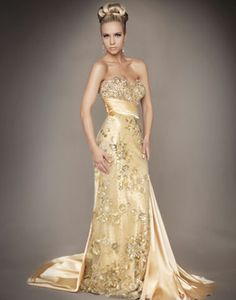 Strap Couture Gown - Mac Duggal Would wear this....if I had someplace nice to wear it to....lol!