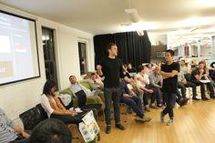 Will Dennis presents at Techstars New York.