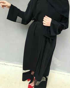 Abaya Fashion, Muslim Fashion, Modest Fashion, Fashion Dresses, Modest Dresses, Modest Outfits, Mode Kimono, Modele Hijab, Mode Abaya
