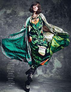 """Bonne Impression"" Marta Dyks By Marcin Tyszka For Elle France 4th April 2014"