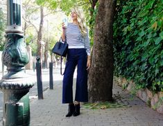 October's Fav! - This is Sivylla Denim Culottes, Fashion Forward, Autumn Fashion, October, Dressing, Friday, Hats, Casual, Sweaters