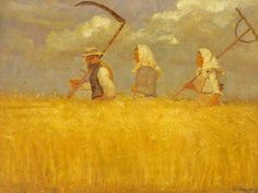 It's About Time: Woman Artist -  Danish Anna Ancher 1859-1935 Paints Herself & The World Around Her