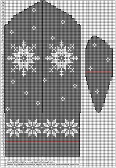 Just Crafty Enough – Project: January Mittens Knitted Mittens Pattern, Knit Mittens, Mitten Gloves, Knitting Charts, Knitting Patterns Free, Crochet Patterns, Crochet Cardigan, Knit Crochet, Quick Knits