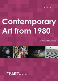 Contemporary Art from 1980 - The art discussed in this lesson comes from the era after Modern Art, introduces different concepts of art as it is made today, Artworks in their broadest form will be explored; new technologies, new materials, new theories about the nature of art, incl. film, video, computers, three-dimensional, live elements and performances. Often at odds with the public, sometimes at odds with the critics, our author explains why these works hold an important place.