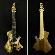 """IS oficina de luteria on Instagram: """"Guitarra 8 cordas ergonômica.  Especificações: Quantidade de cordas - 8 Escala - 25'' e 27'' (multiscale) Afinação - e, b, g, D, A, E, B,…"""""""