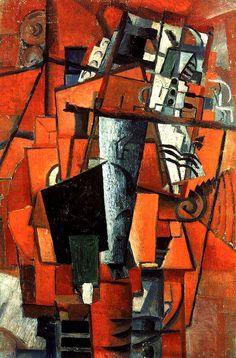 Казимир Малевич«Дама у рояля» 1913 г.