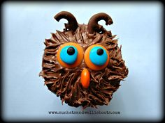 Owl Cupcakes (simple quick recipe)