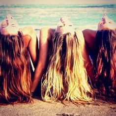 Cute photo idea for summer with friends!