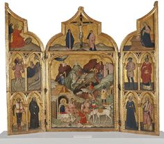 Jacobello del Fiore Triptych with the Adoration of the Magi and Saints Object typepaintingDateUnknown dateMedium Current location Nationalmuseum National Museum, Art Museum, Vintage World Maps, Saints, Painting, Current Location, Stockholm, Sweden, Box