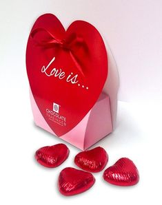 Say Thank You Lena With A Mini Heart Tin Gift Present with Chocolates