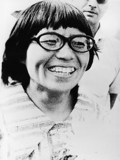 Junko Tabei, the first woman to climb Mount Everest (1975).