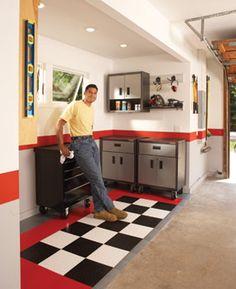 garage Garage Roof, Garage Walls, Man Cave Garage, Garage House, Dream Garage, Car Garage, Garage Party, Garage Organization, Garage Storage