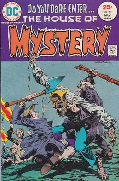 House of Mystery #231 / Bernie Wrightson Cover Art