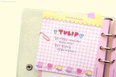 Diary Planner, Monthly Planner, Digital Journal, Makeup Pouch, Pen Case, Pencil Pouch, Paper Goods, School Supplies, Pink