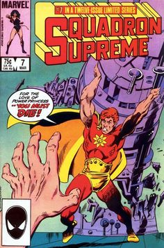 SQUADRON SUPREME COMIC BOOK COVERS - Google Search