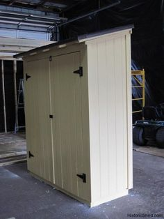 Narrow storage shed                                                                                                                                                     More