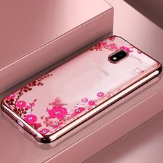 bfa68e60d16 TPU Flower case For Samsung Galaxy A8 A9 star J2Pro A8 A6 Plus J7 J8 J4