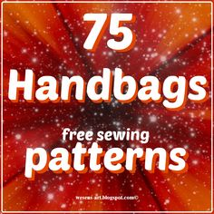 Need a lang interp program || 75 Handbags   free sewing patterns