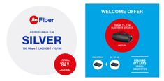 Upgrade to Silver Plan and get additional 200 GB and 3 months of Subscription for OTT apps in the JioFiber Connection Welcome Offer Computer Magazines, Technology Magazines, Computer Technology, Cheap Pc, Wifi Mesh, Line Phone, Mobile Security, Fast Internet