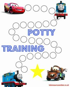 Sticker Chart for Potty Training Beautiful Free Printable Thomas and Cars Potty Training Chart Potty Training Sticker Chart, Potty Training Rewards, Potty Training Girls, Toilet Training, Training Meme, Training Quotes, Printable Potty Chart, Free Printable, Toddler Potty