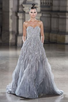 Find tips and tricks, amazing ideas for Tony ward. Discover and try out new things about Tony ward site Pink Gowns, White Gowns, Pink Dress, Ellie Saab, Strapless Dress Formal, Prom Dresses, Formal Dresses, Dresses Art, Strapless Maxi