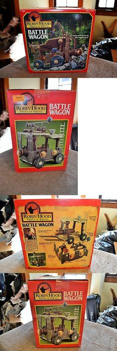 Other Vintage and Antique Toys 30: Kenner Robin Hood Prince Of Thieves Battle Wagon Sealed Box Mint Contents -> BUY IT NOW ONLY: $65 on eBay!