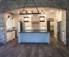 Kitchen Brick Accent. Kitchen Brick Accent. Kitchen Brick Accent Ideas. #KitchenBrick #KitchenBrickAccent kitchen-brick-accent Instagram Newly Built Home Ideas Instagram Sarah Smith: