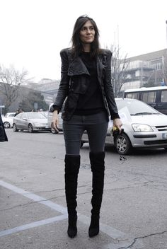 Vogue Paris' Emmanuelle Alt                                                                                                                                                                                 Más