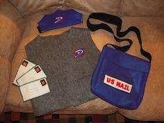Felt Mail Man costume