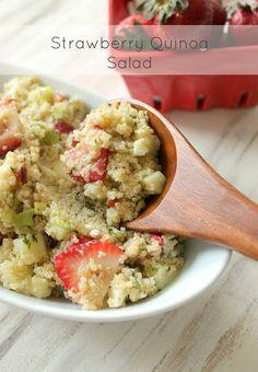 The Kitchen Prep: Coming Clean: Strawberry-Quinoa Salad