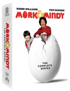 """Mork & Mindy"" The Complete Series DVD box set (Paramount Home Entertainment/CBS DVD)"